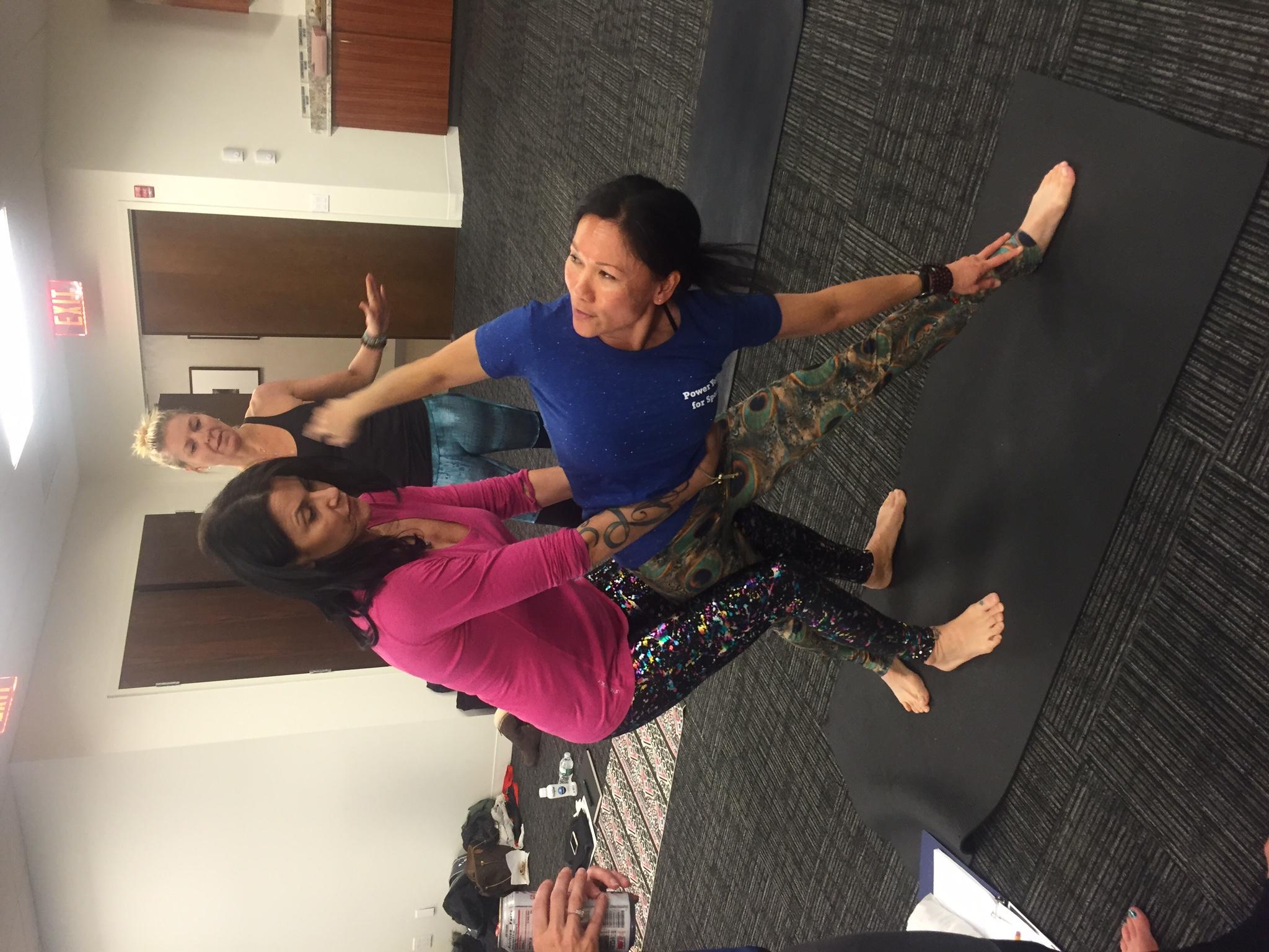 200 hour online Yoga Teacher Training - Power Yoga for Sports
